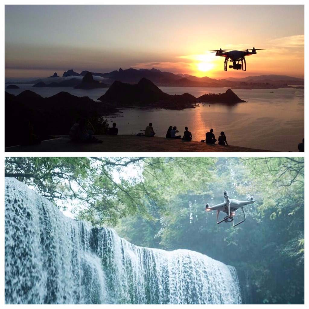 DJI Phantom comparativa