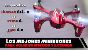 Los 3 mejores mini drones baratos para volar en exteriores