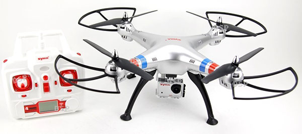 Syma X8G cámara HD 8 MP