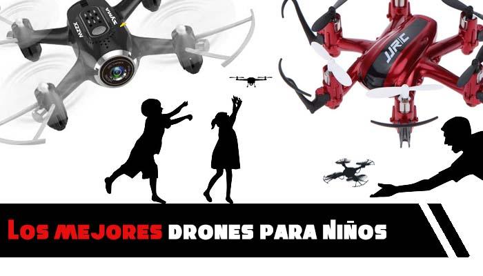 Los mejores Drones para Niños y dónde comprar drones online