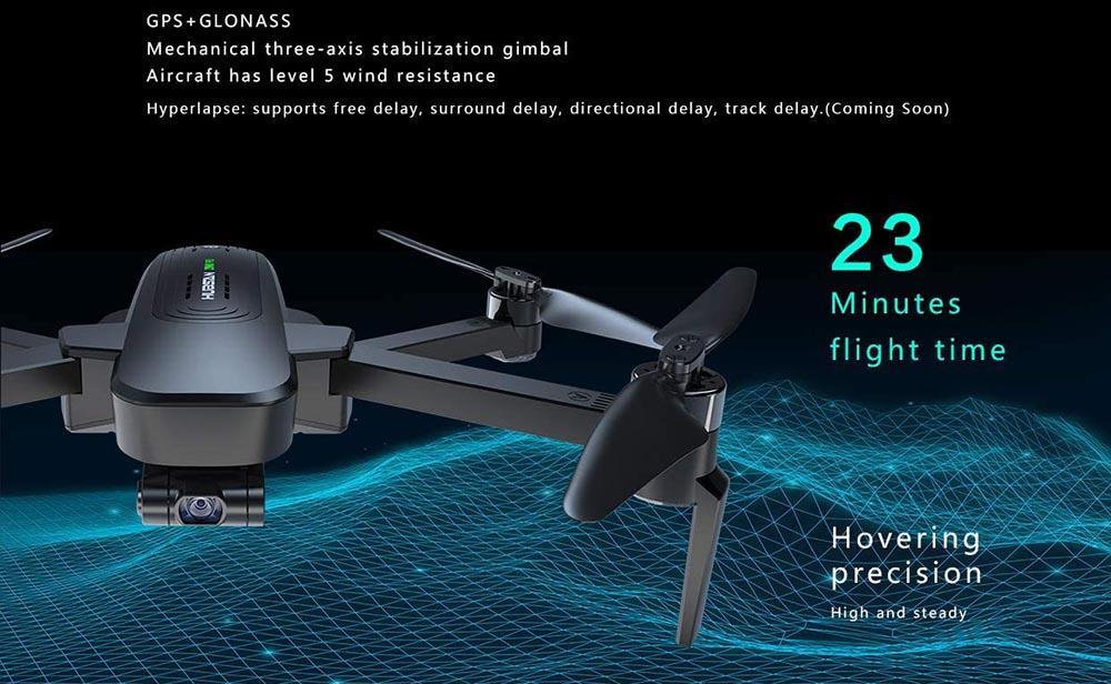 Especificaciones técnicas del Hubsan Zino Pro