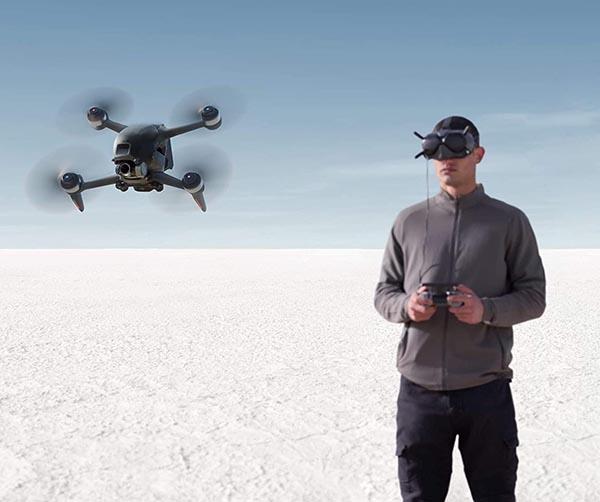 ¿El dron DJI FPV sirve para competiciones?