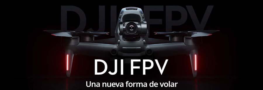 ¿Qué es el dron DJI FPV?