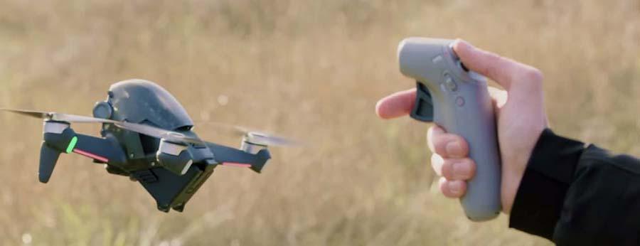 Detalles adicionales en el dron DJI FPV